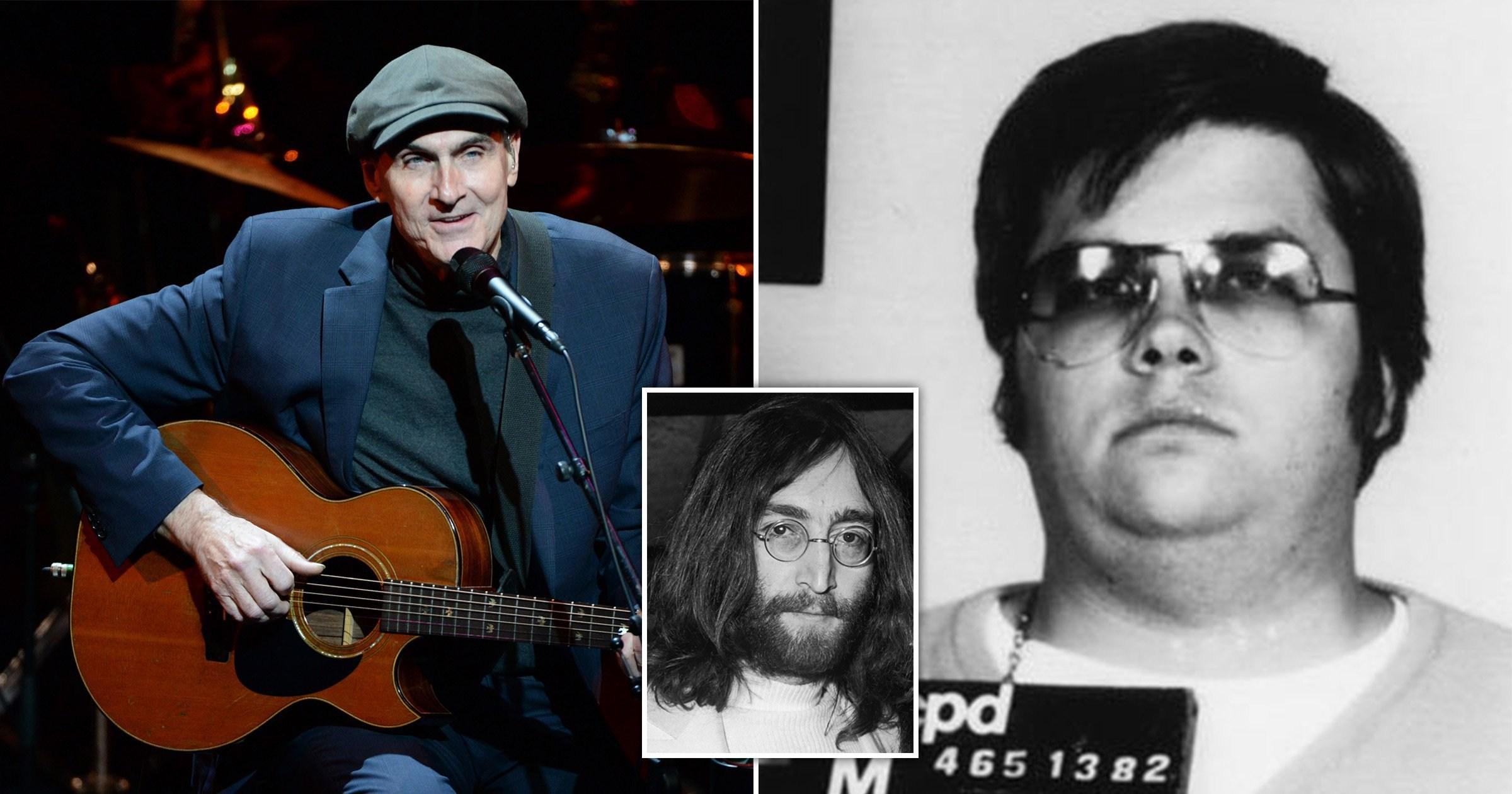 John Lennon death: James Taylor recalls unsettling moment he met singer's killer day before he murdered Beatles icon