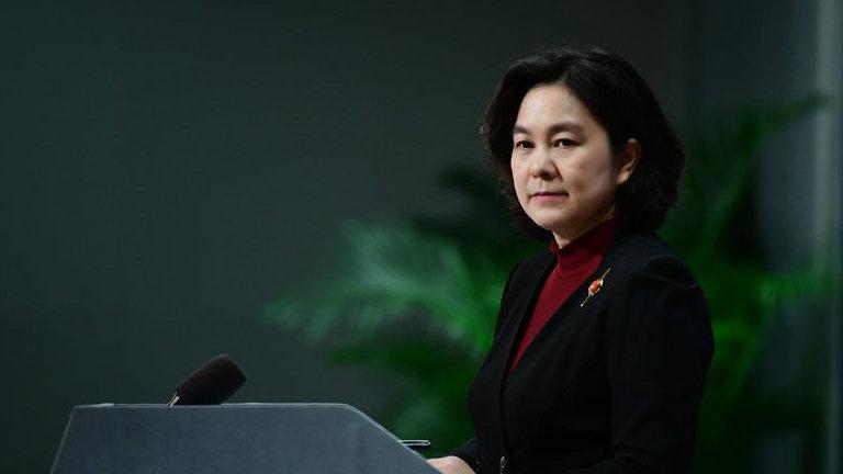 外交部:再次敦促蓬佩奥之流停止制假、贩假