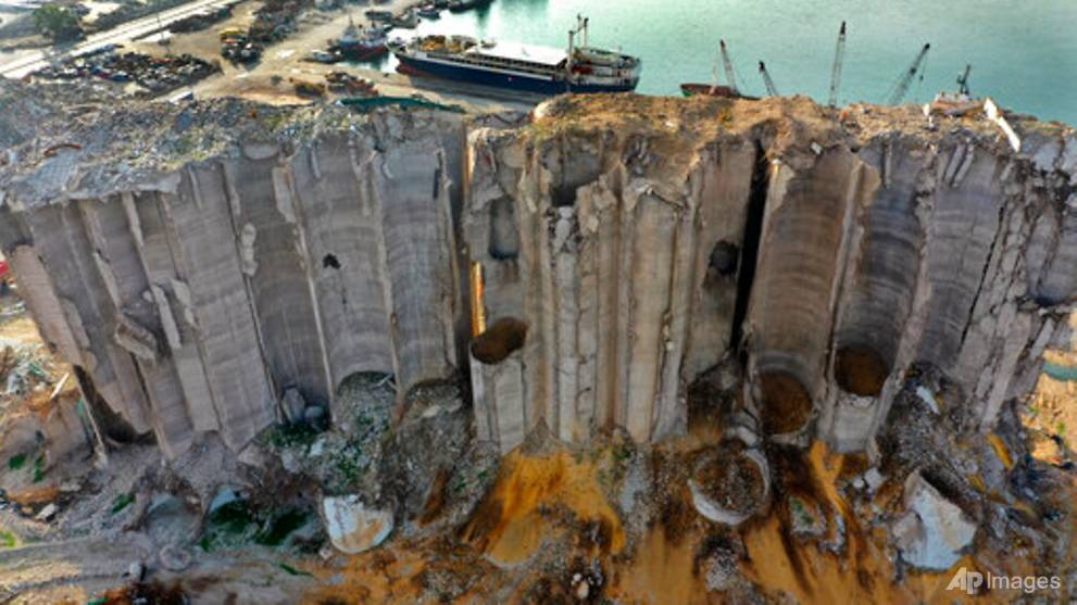 Beirut silos at heart of debate about remembering port blast