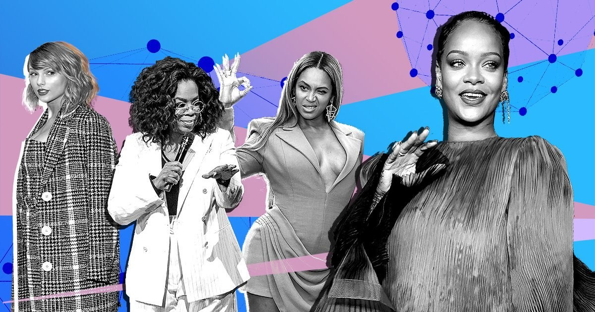 Beyonce, Rihanna, Taylor Swift named on Forbes' 100 most powerful women in the world list