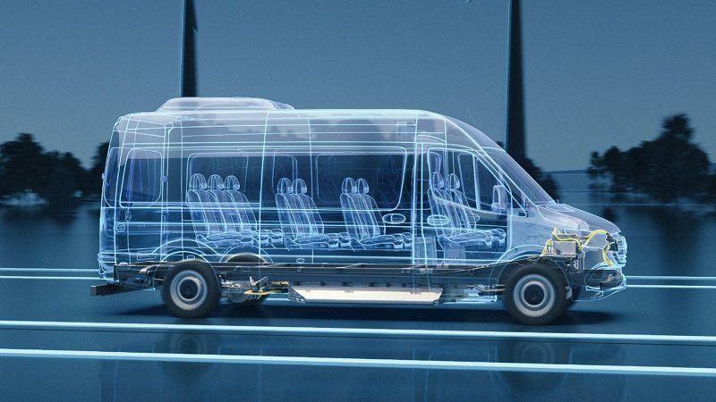 Next-gen Mercedes-Benz eSprinter cargo van will be more robust, is coming to U.S.