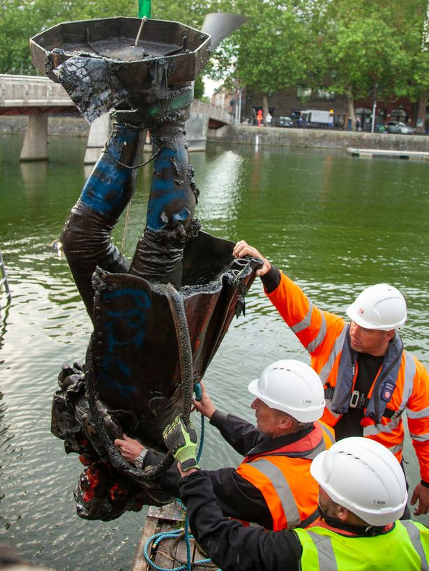 Four people charged with criminal damage over Bristol toppling of Edward Colston statue