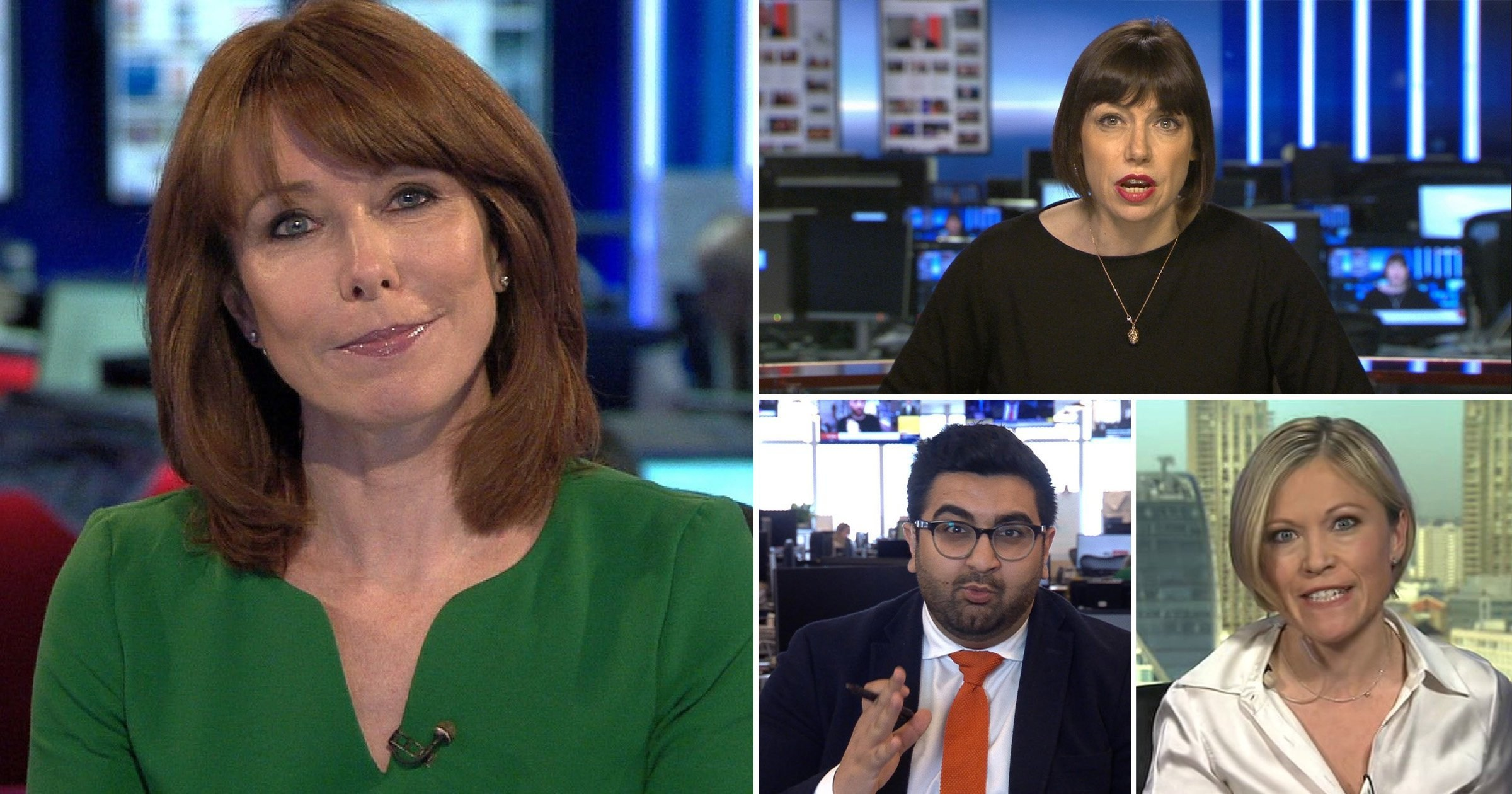 Sky News presenter Kay Burley 'regrets pulling' dear friends' into coronavirus breach as they come off air