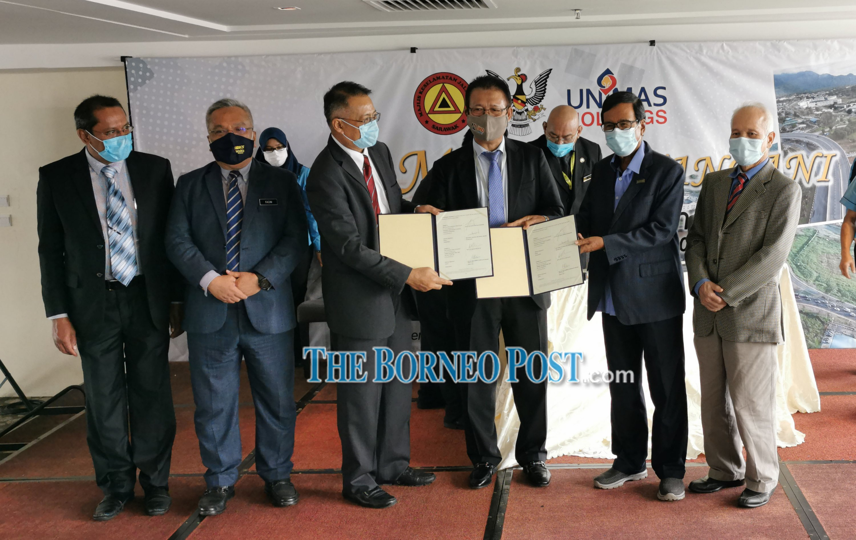 Parties sign MoA to formulate S'wak Road Safety Strategic Plan (2021-2025)