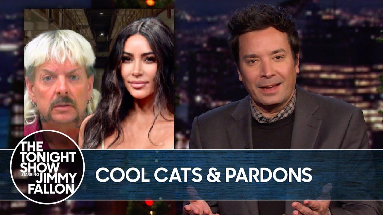 Joe Exotic Asks Kim Kardashian for Help with President Trump Pardon   The Tonight Show