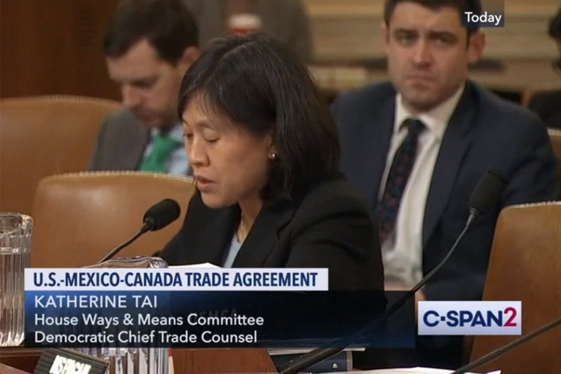 Biden's US trade chief pick, Katherine Tai, 'unmatched' on China trade issues and would not be soft on Beijing, sources say