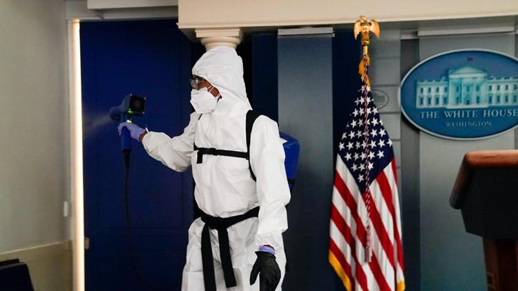 美媒:拜登入住前 白宫将进行全面消毒