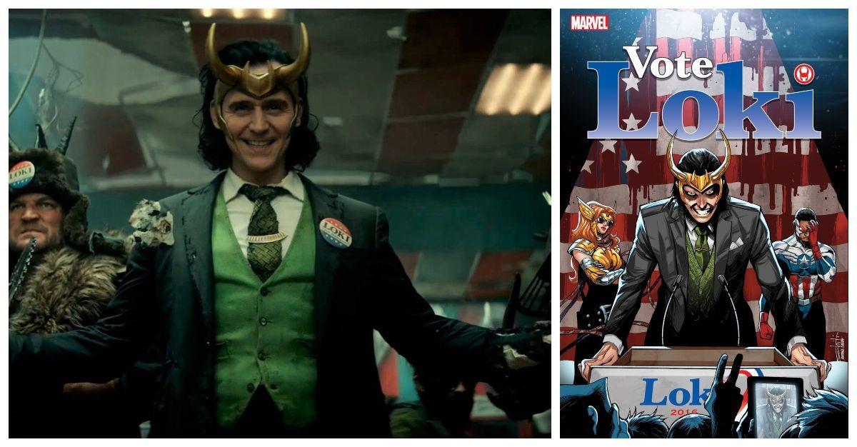 Marvel's Loki Recreates the Character's Vote Loki Costume for Disney+ Series