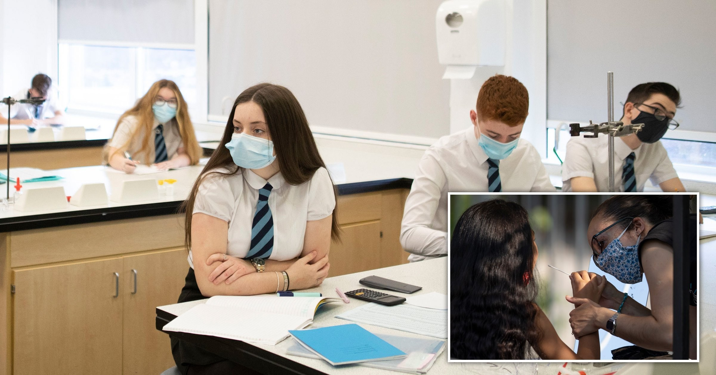 Secondary school pupils in worst hit areas to be tested for Covid