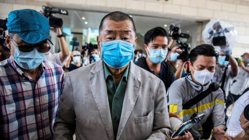 Hong Kong media tycoon Jimmy Lai charged under national security law: Media