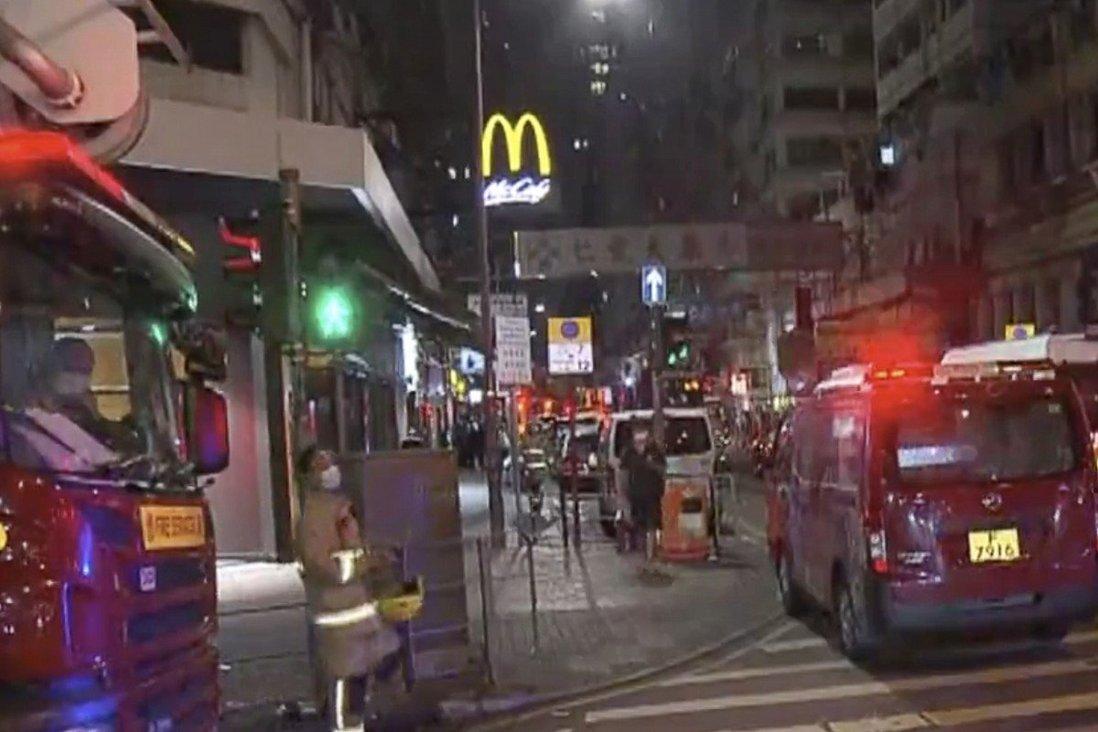 Hong Kong woman critical, three pet dogs die in Mong Kok flat fire