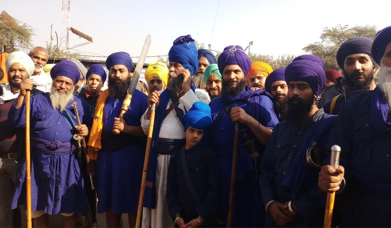 In India, Sikh farmers arm themselves with food and willpower to defeat Modi