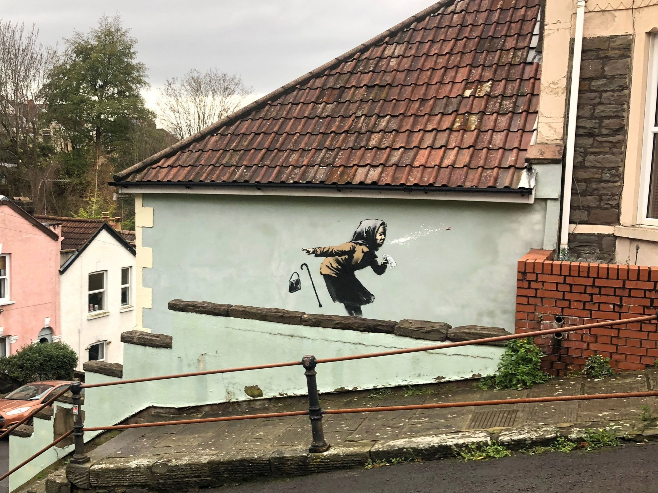 Who is Banksy and where can you find his best street art?
