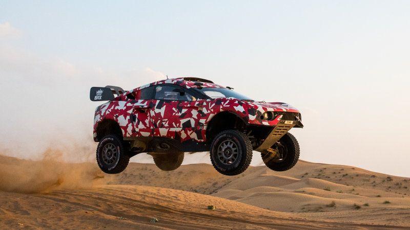 Prodrive BRX T1 is designed by Ian Callum, to be driven by Sebastian Loeb in Dakar Rally