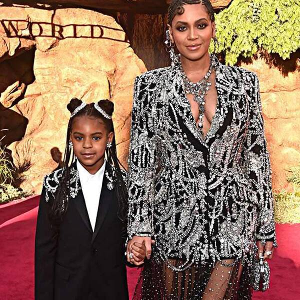 Beyoncé Shares Must-See Photo of Daughter Blue Ivy Carter Sipping From Her Grammy