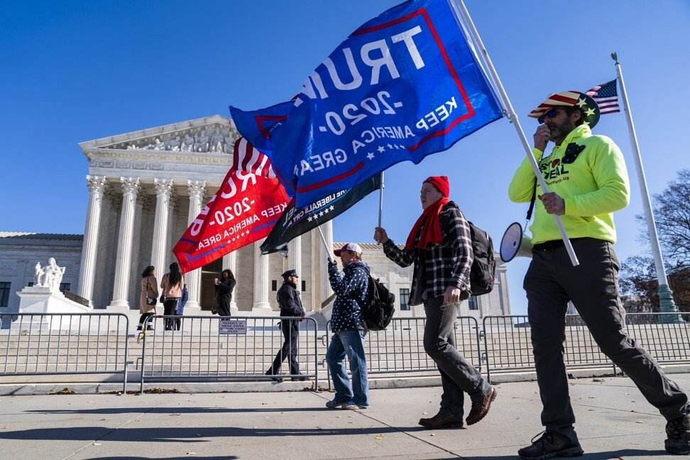 US Supreme Court rejects Trump's bid to overturn Biden election victory