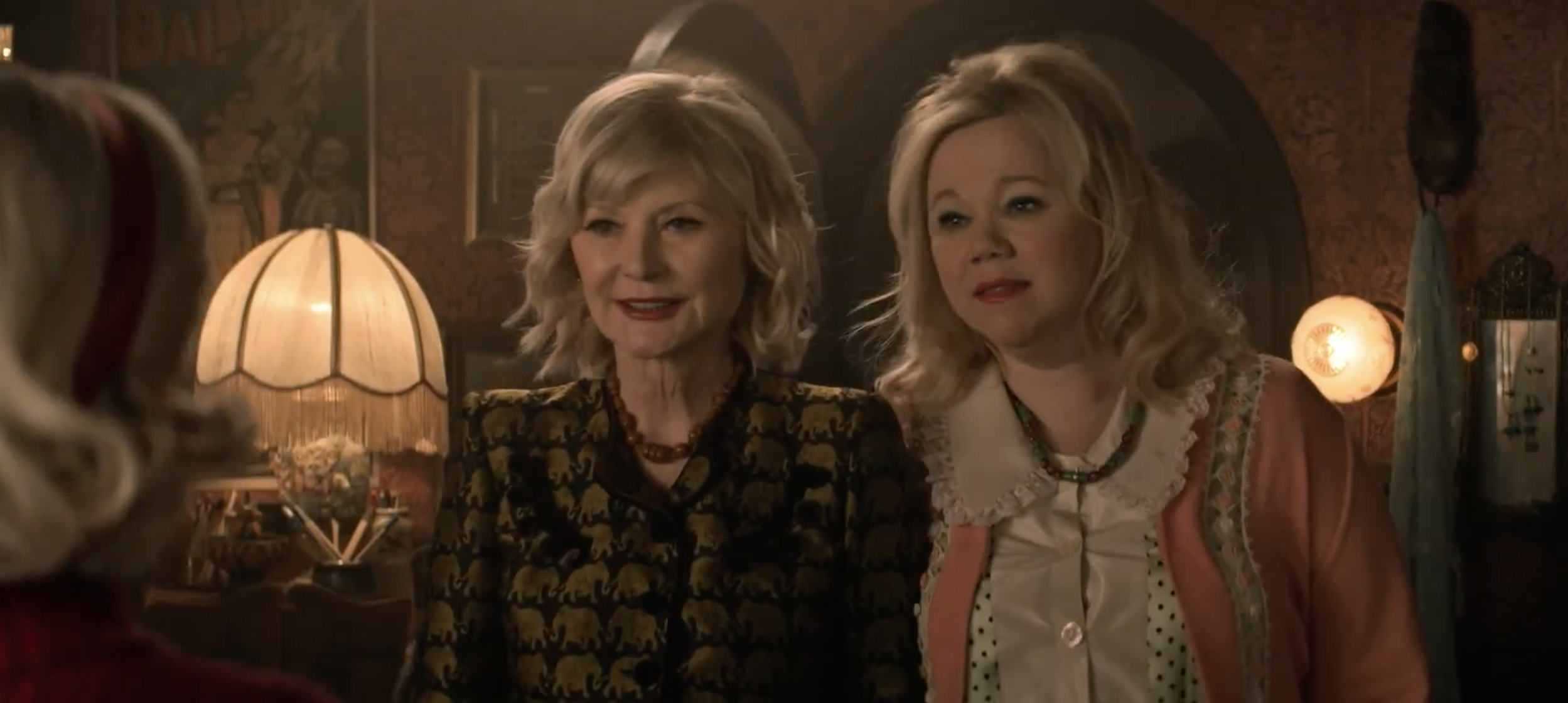 The Sabrina, the Teenage Witch aunts got a Netflix show crossover