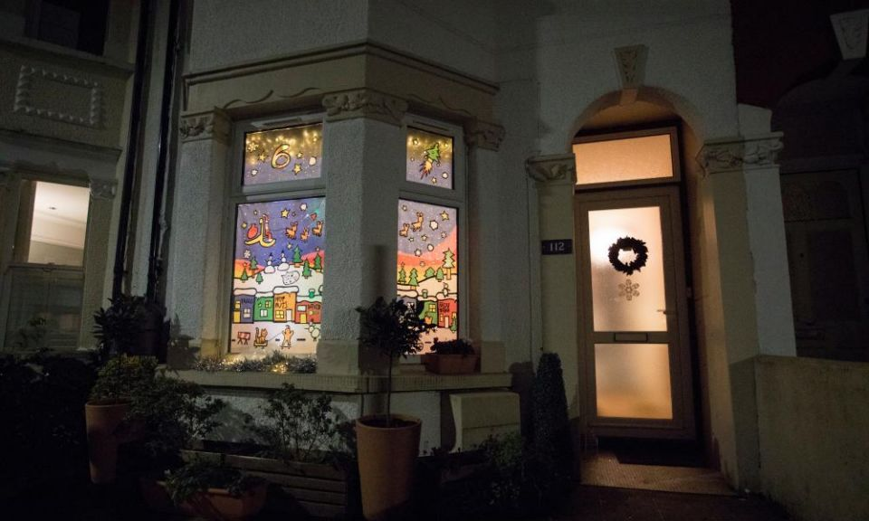 'It brings cheer after a rubbish year': advent windows light up UK streets