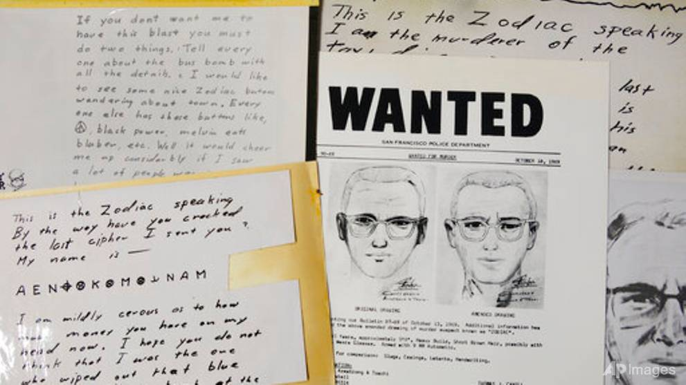 Zodiac Killer message decoded after more than 50 years