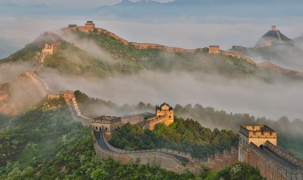 China's secret: Scan of Great Wall uncovers 'mysterious openings along base' of structure