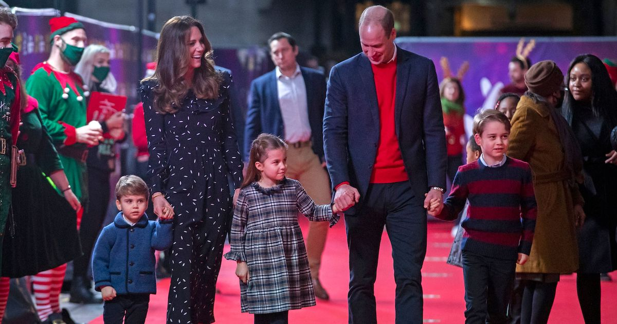 The Cambridges Made Their First Red Carpet Appearance And Charlotte Stole The Show