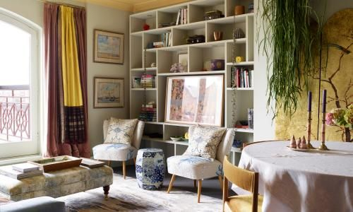 Tales of the riverbank: a small flat on the Thames that sparkles