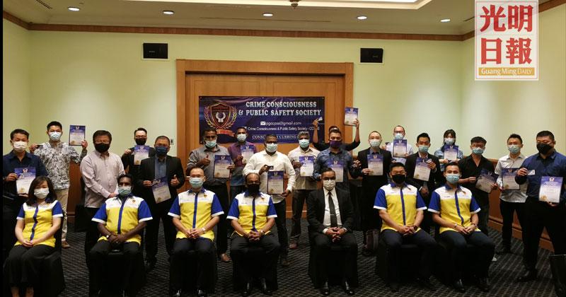 阿尼尔:社区学校工厂开讲 槟CCPSS宣导防罪意识