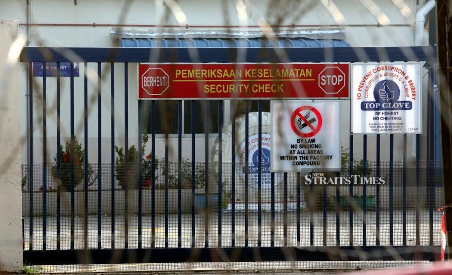 EMCO at Top Glove's Klang hostel ends