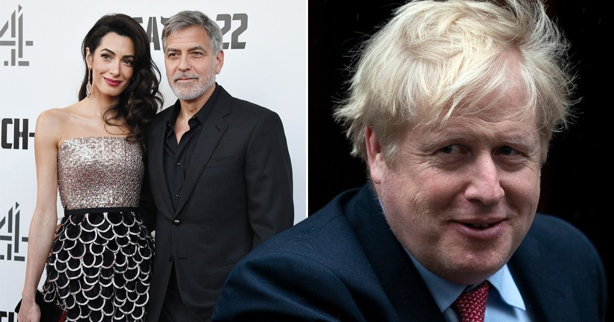 George Clooney thanks Boris Johnson for bringing him closer to wife Amal as they secretly dated