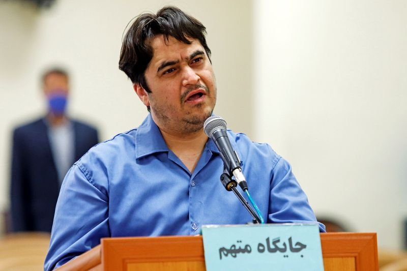 Iran's Rouhani defends execution of captured dissident journalist Zam