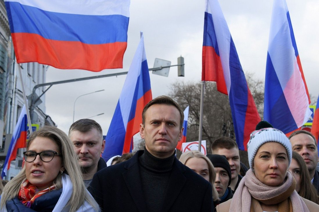 Russian chemical weapons experts tailed Alexei Navalny for years before poison attack, joint report says