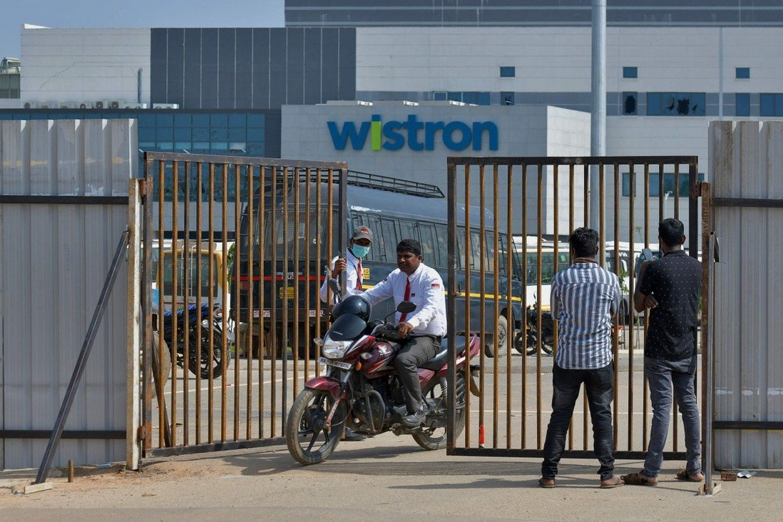 Apple sends teams to iPhone factory in India after hundreds protest over conditions