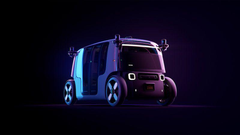 Amazon's Zoox unveils self-driving robo-taxi