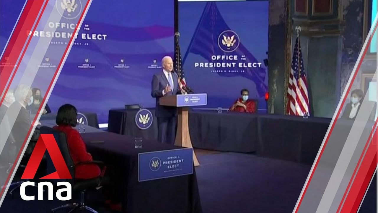 Joe Biden lashes out at Donald Trump after US electoral college confirms his win