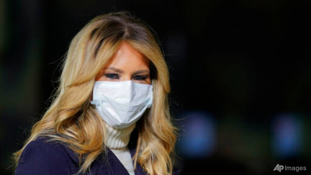 Pandemic doesn't break US first lady holiday tradition of visiting children's hospital