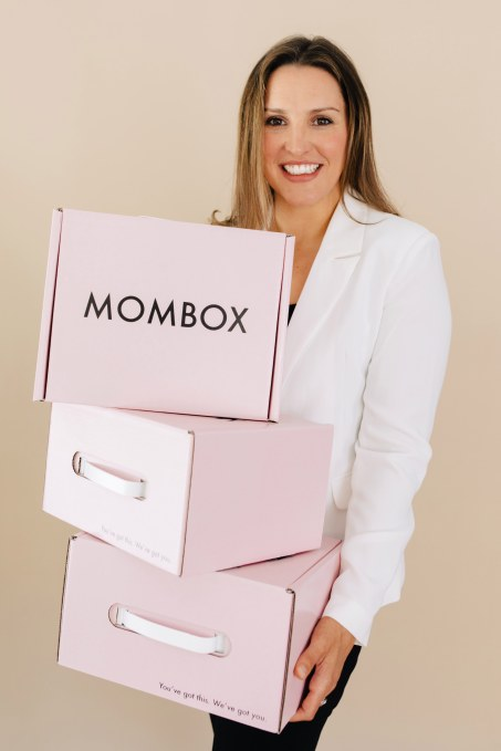 Mombox is a curated kit of postnatal products that puts new moms first