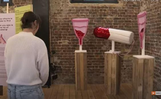 """惊见""""可乐灌阴""""避孕法!阴道博物馆:盼破除误解"""