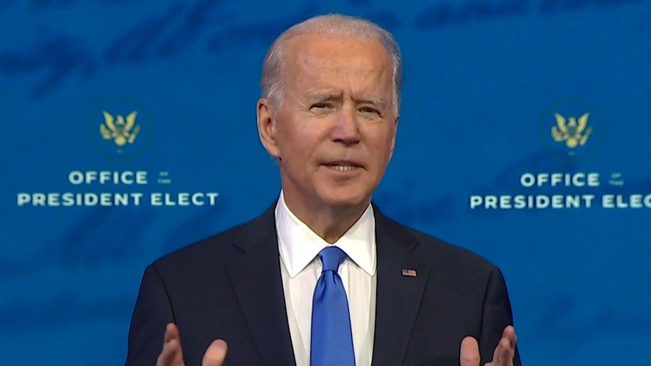 Russia's Vladimir Putin congratulates Joe Biden on US election victory