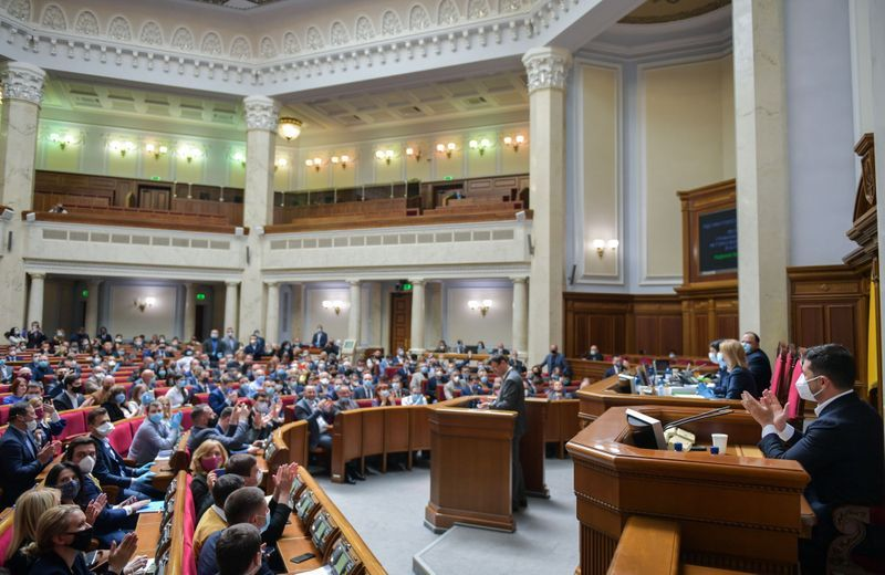 Ukraine parliament restores powers of anti-corruption agency in bid for foreign loans