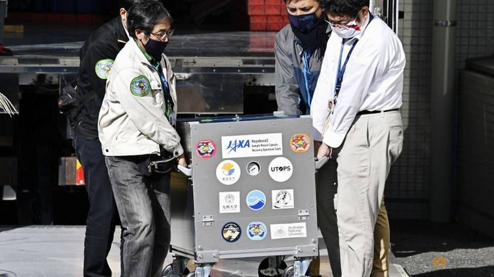 Samples from asteroid more than hoped for, Japan researchers say