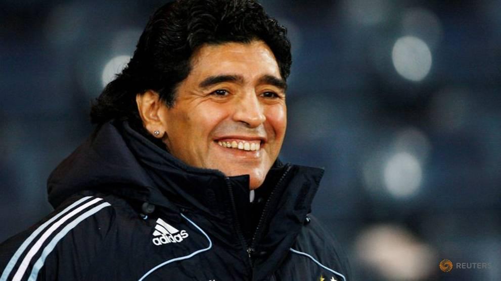 Old container promises treasure trove of Maradona memorabilia