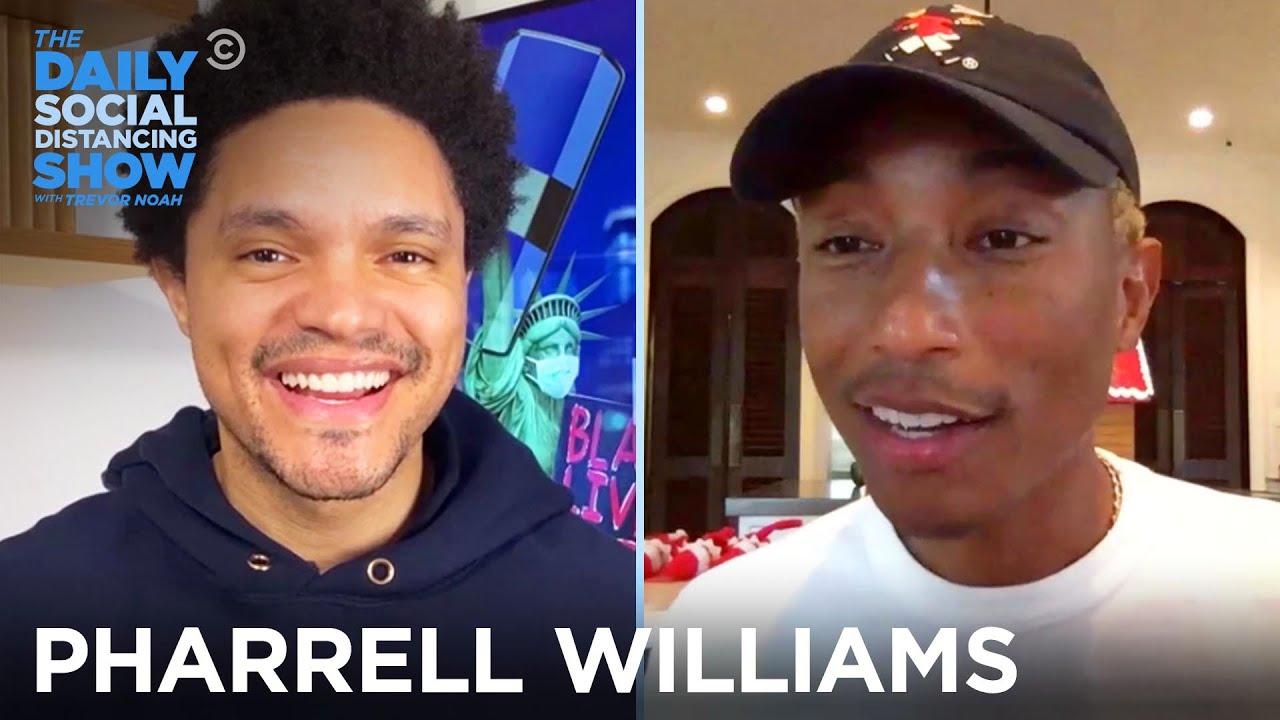 Pharrell Williams - Inspiring Young Black Entrepreneurs at HBCUs   The Daily Social Distancing Show