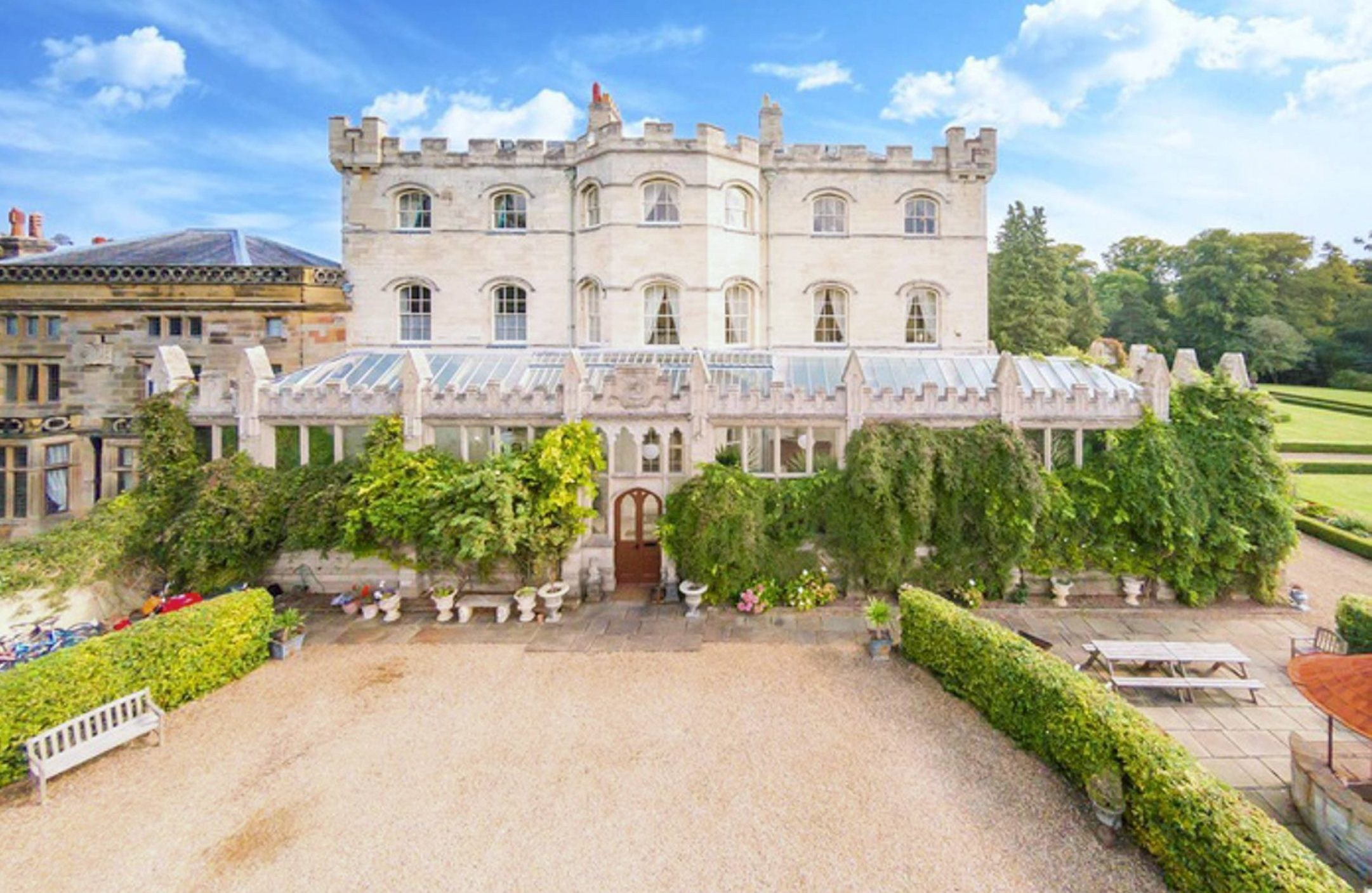 Castle with 11 bedrooms and its own dungeon goes on sale for the price of a two-bed London flat