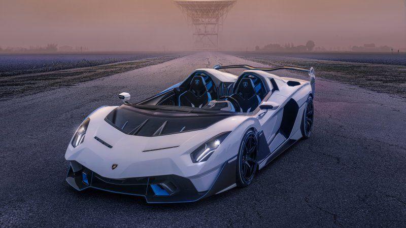 Lamborghini unveils customer-commissioned one-off SC20 barchetta