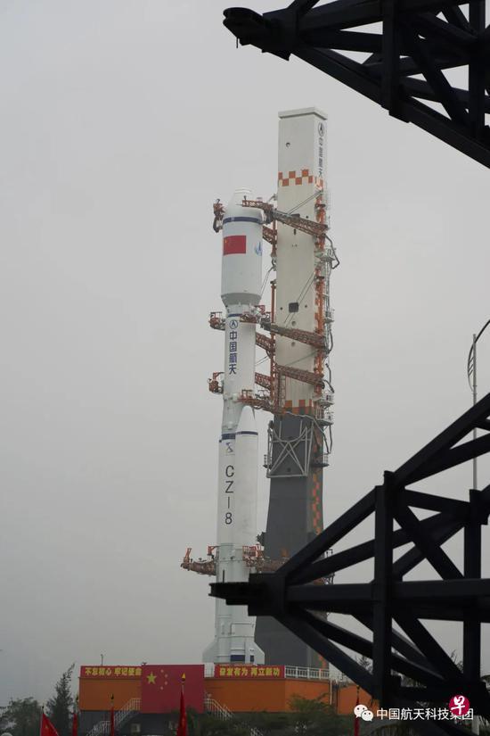 【图集】中国新型长征八号火箭亮相