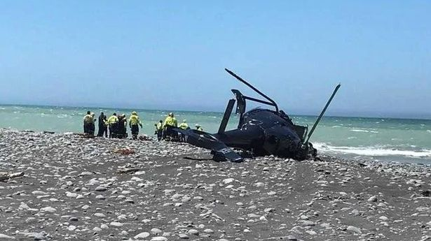 Pilot dad and mum killed in horror helicopter crash were on way to lunch with children