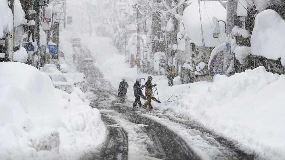 Army deployed as record snowfall blankets parts of Japan