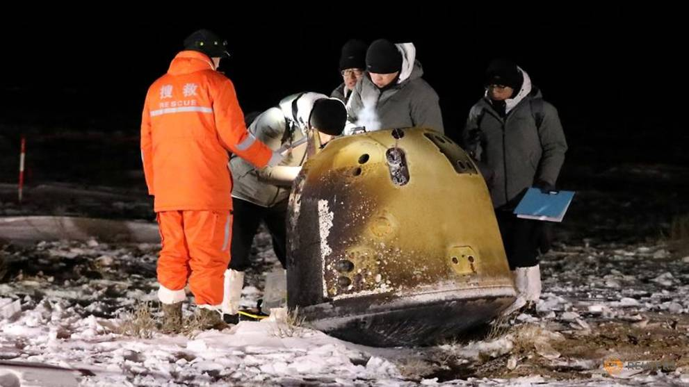 China says it will share Chang'e 5 lunar samples with other countries