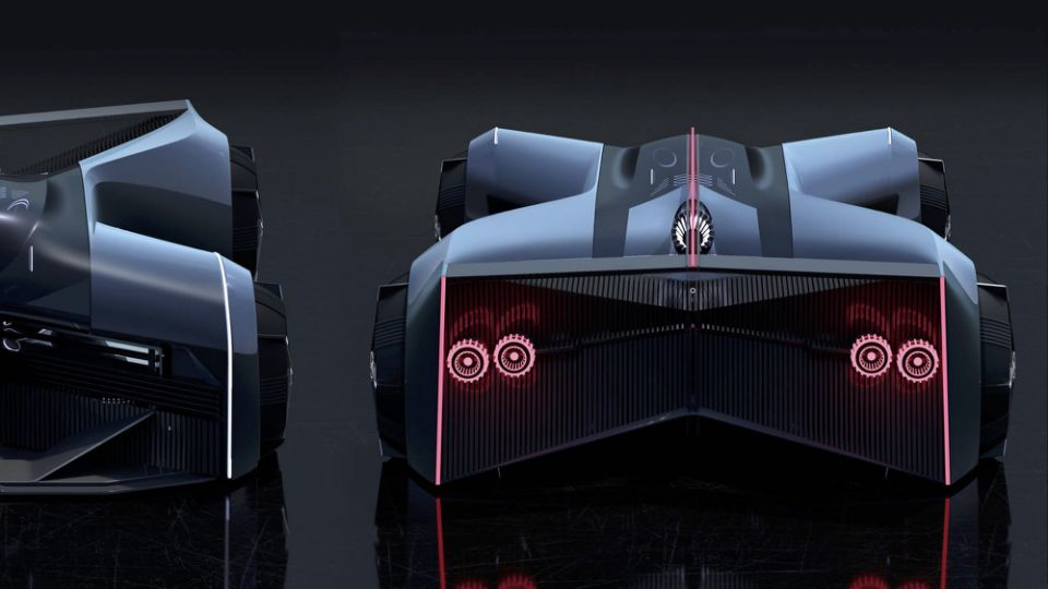 Nissan GT-R (X) 2050 envisions what a GT-R of the future could look like
