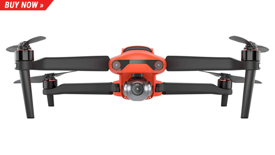 The EVO II is the only foldable 8K drone around ... For now